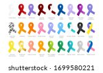 all cancer ribbons color... | Shutterstock .eps vector #1699580221