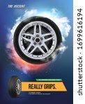 vector automotive brochure... | Shutterstock .eps vector #1699616194