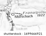 Morschach on a geographical map of Switzerland