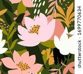 abstract aesthetic seamless... | Shutterstock .eps vector #1699770634