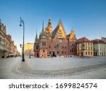 Wroclaw  Poland   Town Hall ...
