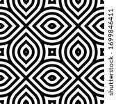 vector geometric pattern.... | Shutterstock .eps vector #1699846411