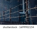 Barbed Wire Stretched In 3...