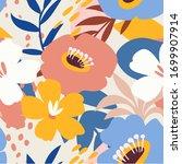 abstract aesthetic seamless...   Shutterstock .eps vector #1699907914