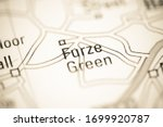 Furze Green On A Geographical...