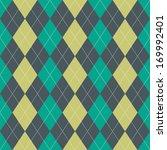 seamless argyle pattern in...   Shutterstock .eps vector #169992401