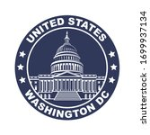 united states capitol building... | Shutterstock .eps vector #1699937134