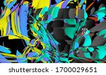 abstract landing page template...   Shutterstock .eps vector #1700029651