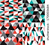 seamless pastel geometric... | Shutterstock .eps vector #170003684