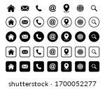 website icon set  web icon set  ... | Shutterstock .eps vector #1700052277