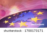 vector background with the... | Shutterstock .eps vector #1700173171