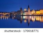 Czech Republic - Prague -  Charles Bridge and Lavka