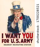 Uncle Sam  'i Want You' Poster...