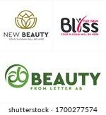 logo icon lotus human circle... | Shutterstock .eps vector #1700277574