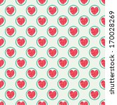 vector seamless pattern with... | Shutterstock .eps vector #170028269