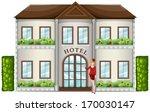 illustration of a hotel... | Shutterstock .eps vector #170030147