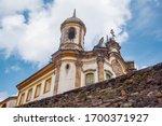 Baroque Church In Ouro Preto ...