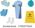 vector images of personal... | Shutterstock .eps vector #1700375344