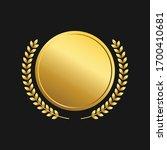 gold medal vector design... | Shutterstock .eps vector #1700410681