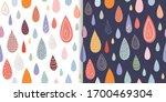 childish seamless patterns set... | Shutterstock .eps vector #1700469304