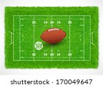 rugby field with realistic... | Shutterstock .eps vector #170049647