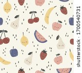 seamless pattern with cute...   Shutterstock .eps vector #1700540731