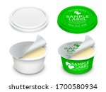 vector labeled round plastic... | Shutterstock .eps vector #1700580934