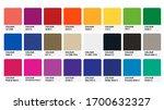 pantone classic colour catalog...   Shutterstock .eps vector #1700632327