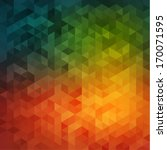 Vibrant Mosaic Background