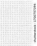 dot a4 mock up illustration.... | Shutterstock .eps vector #1700757394