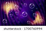soap bubbles against the... | Shutterstock .eps vector #1700760994