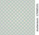 Stock vector seamless flower circle wedding vintage pattern background 170085101