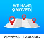 we have moved. moving office... | Shutterstock .eps vector #1700863387