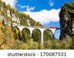 Train On Rhaetian Railway ...