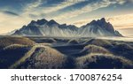 Sunny Landscape Of Iceland....