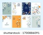 set of brochure designs on the...   Shutterstock .eps vector #1700886091