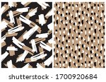 abstract hand drawn brush...   Shutterstock .eps vector #1700920684