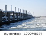 Panoramic View Of The Inlet Of...