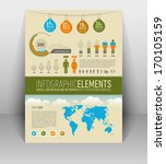 cool infographic elements for... | Shutterstock .eps vector #170105159