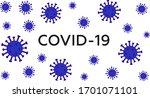 covid 19 coronavirus 2019 ncov... | Shutterstock .eps vector #1701071101