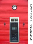 Small photo of Red school house on M-22 near Leland, MI.