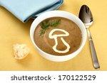 precious mushroom cream soup...
