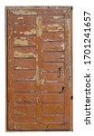 The Aged Broken  Wooden Door Of ...