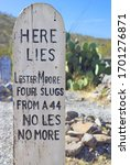 Boothill Cemetery And Tombstone ...