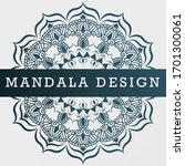 mandalas for coloring book.... | Shutterstock . vector #1701300061