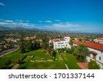 Small town of Santa Barbara, United states