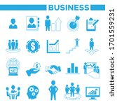 business  management and human... | Shutterstock .eps vector #1701559231