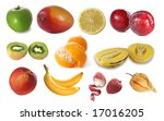 assembling of delicious fruit | Shutterstock . vector #17016205