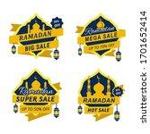 Set Of Ramadan Sales Ribbons...