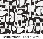 new grunge aesthetics in... | Shutterstock .eps vector #1701772891